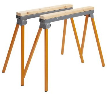 All Steel Folding SAWHORSE - Pair Bora Portamate PM-3300T