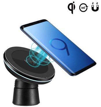 Fast Magnetic Wireless Car Charger Charging Pad Car Mount