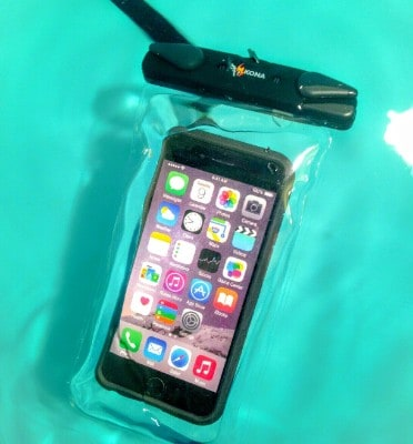 Submariner Waterproof Phone Pouch - Swipe Sideways On Any Phone To Access Camera