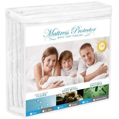 Adoric Mattress Protector, Full Size Waterproof Mattress Protector