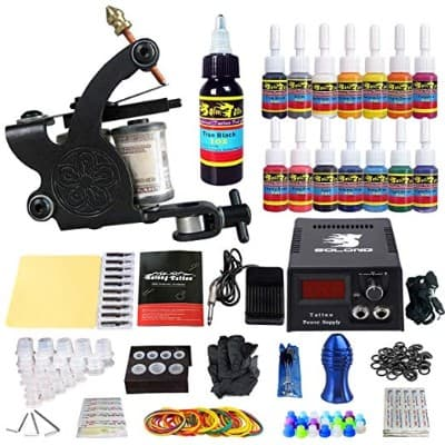 Solong Tattoo Complete Starter Tattoo Kit 1 Pro