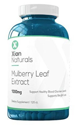 Xion Naturals White Mulberry Leaf Extract All Natural Weight Loss, Appetite Suppressant