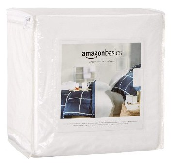AmazonBasics Fully-Encased Waterproof Mattress Protector