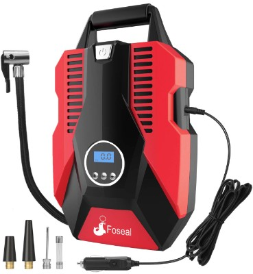 Foseal 1 Red Portable Air Compressor Pump