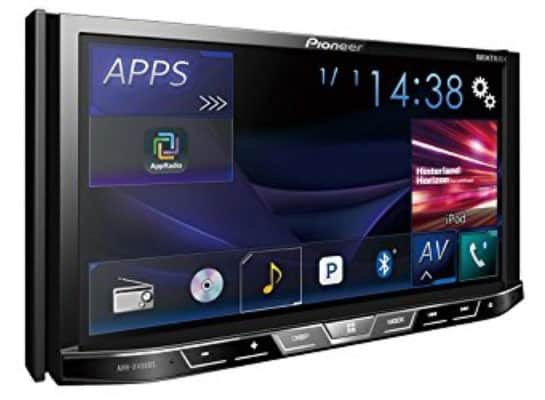 Pioneer AVH-X490BS Double Din Bluetooth In-Dash DVD:CD:Am:FM Car Stereo