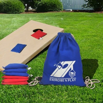 EXERCISE N PLAY Weather Resistant Official Regulation Cornhole Bags