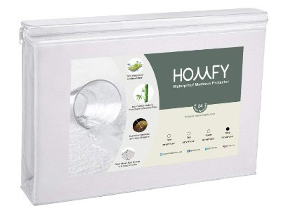 HOMFY King Premium Hypoallergenic Waterproof Mattress Protector