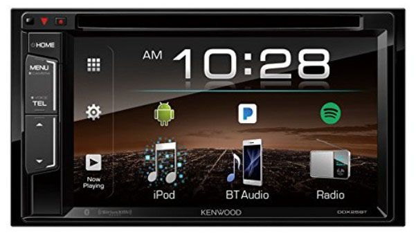 Kenwood DDX25BT 6.2 2-Din in-Dash DVD Monitor Bluetooth Receiver Sirius:MP3:WMA