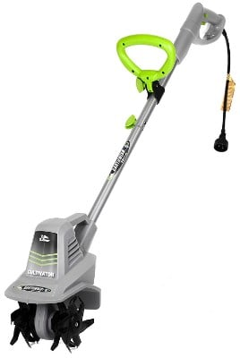 Earthwise TC70025 7.5-Inch 2.5-Amp Corded Electric Tiller:Cultivator