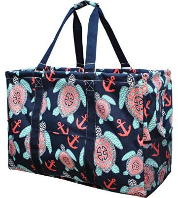 N. Gil Multi Purpose Carry All 24 Mega Utility Tote Bag