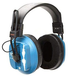 Dekoni Audio Blue Fostex:Dekoni Audiophile HiFi Planar Magnetic Headphone