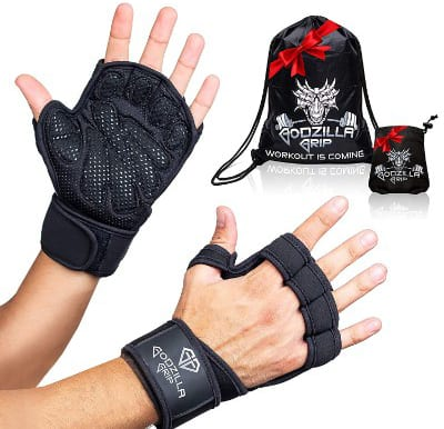Godzilla Grip Fitness Gloves for Weightlifting, Crossfit
