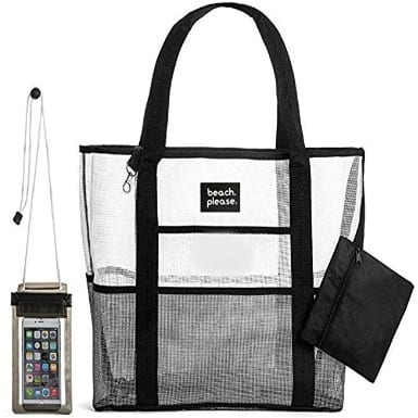 Heavy Duty Mesh Bag – Beach Bag