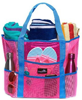Dejaroo Mesh Beach Bag – Toy Tote Bag