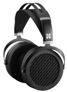 HIFIMAN SUNDARA Over-Ear Full-Size Planar Magnetic Headphones (Black) with High Fidelity Design