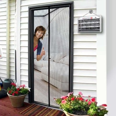 Magnetic Screen Door 36 x 96, Mosquito Patio Screens Door Mesh