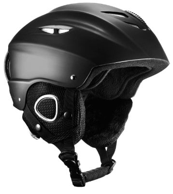 Mpow Ski Helmet, Skateboard Helmet with Controllable Ventilation, Detachable Velvet Earmuff