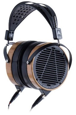 Audeze LCD-2 Over-Ear | Open Back Headphone | Bamboo Wood Rings | Leather