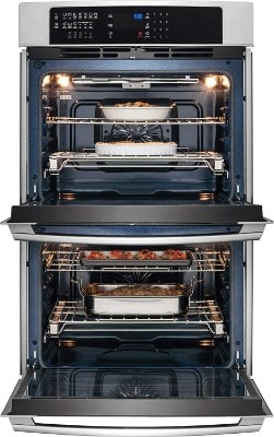 Electrolux 30 Stainless Steel Electric Double Wall Convection Oven EI30EW45PS