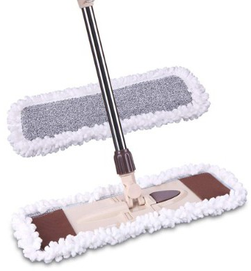 Microfiber Dust Mop with Telescopic Handle