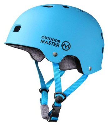 OutdoorMaster Skateboard Helmet - CPSC Certified Lightweight, Low-Profile Skate & BMX Helmet