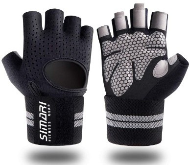 SIMARI Workout Gloves for Women Men, Training Gloves with Wrist Support