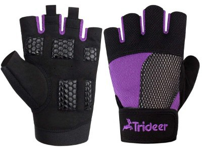 Trideer Weight Lifting Gloves, Breathable & Non-Slip, Workout Gloves, Exercise Gloves