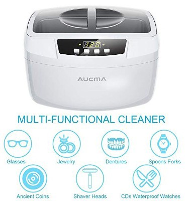 Ultrasonic Cleaner Professional Industrial 160 Watts 2.5L Heated Ultrasonic Cleaners Digital Timer