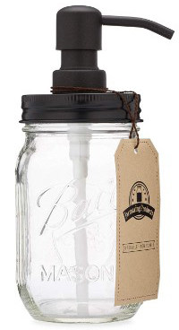 Jarmazing Products Mason Jar Soap Dispenser