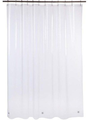 Amazer Shower Curtain Liner, 72 W x 72 H Clear EVA 5G Mildew Resistant