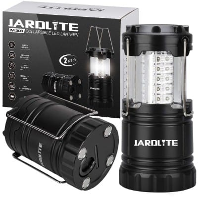 JARDLITE Led Camping Lantern Portable Waterproof Led Lantern