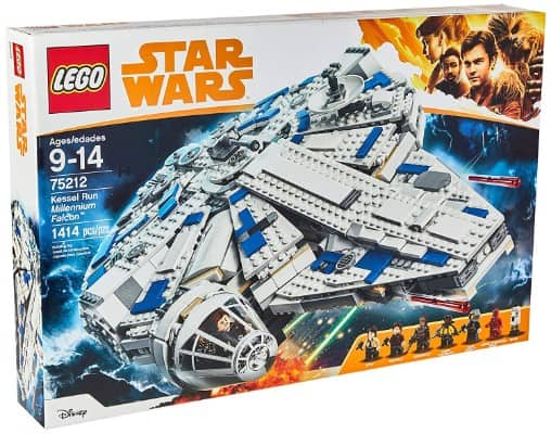 LEGO Star Wars Solo- A Star Wars Story Kessel Run Millennium Falcon 75212 Building Kit