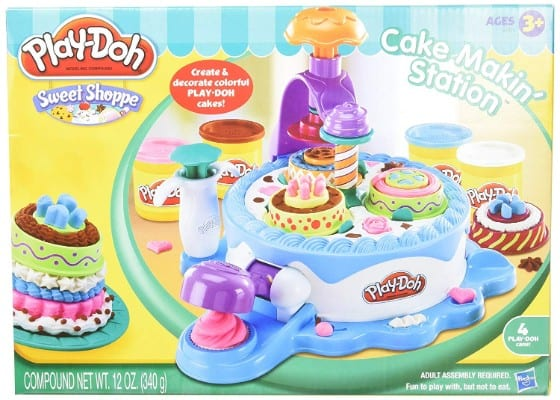 Play-doh Cake Making Station Playset