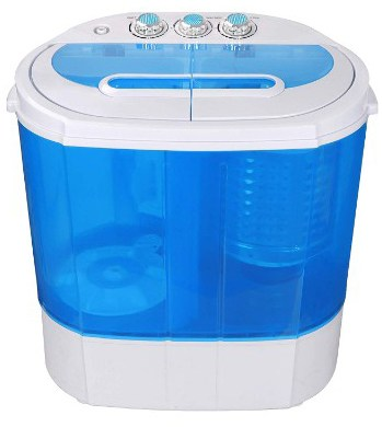 SUPER DEAL Portable Compact Washing Machine, Mini Twin Tub Washer & Spinner