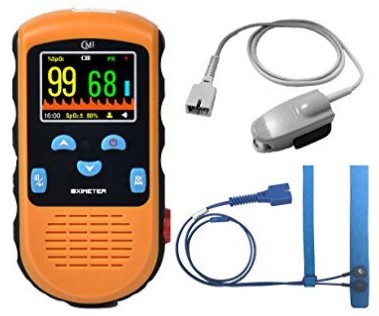 CMI Handheld Pulse Oximeter with Adult and Infant Sensor