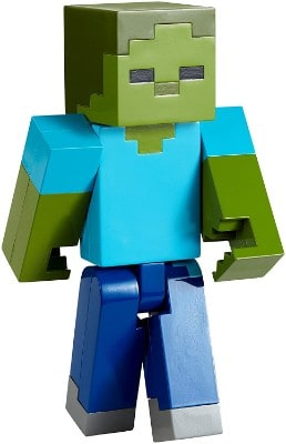 Minecraft Zombie Large Scale Action Figure