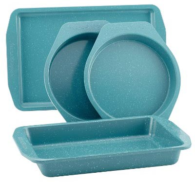 Paula Deen 46653 4-Piece Steel Bakeware Set