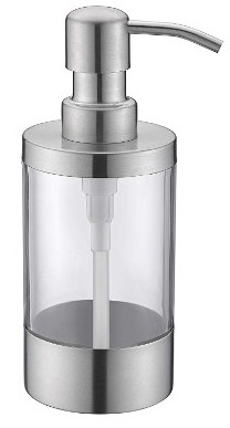 WENKEN Countertop Soap Dispensers Lotion Clear Bottle
