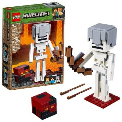 LEGO Minecraft BigFig Skeleton with Magma Cube Building Kit