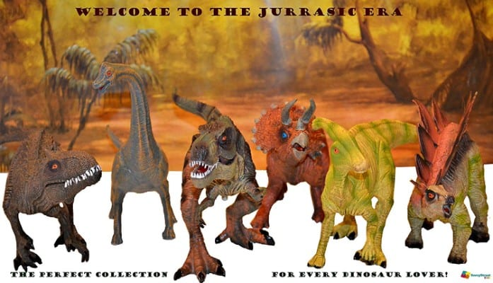 Large 6pack Dinosaurs Set