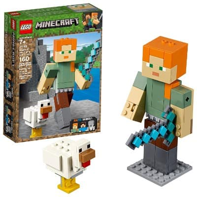 LEGO Minecraft Alex BigFig with Chicken 21149 Building Kit