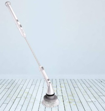 Homitt Electric Spin Scrubber with Adjustable Head