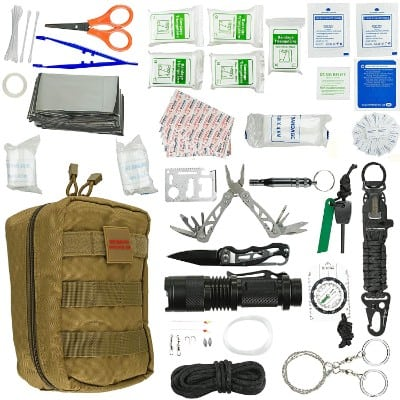 Emergency Survival Kit | Ultimate 98-in-1 Outdoor Multi-Tools