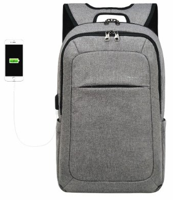 kopack Slim Business Laptop Backpack USB Anti Thief:Tear Water Resistant Travel Computer