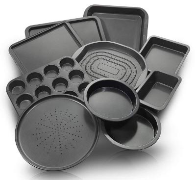 ChefLand 10-Pc. Nonstick Bakeware Set