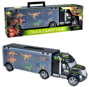 MegaToyBrand Dinosaurs Transport Car Carrier Truck Toy