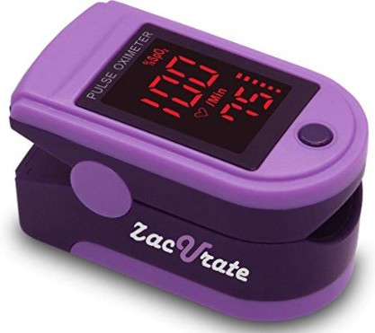Zacurate® Pro Series 500DL Fingertip Pulse Oximeter Blood Oxygen Saturation Monitor