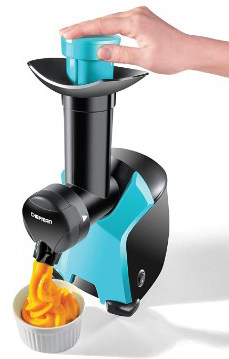 Chefman Frozurt, Frozen Dessert Maker, Healthy, Dairy Free, Vegan Ice Cream, Soft Serve Frozen