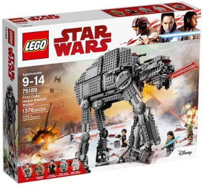 LEGO Star Wars Episode VIII First Order Heavy Assault Walker 75189 Building Kit