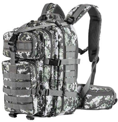 SHARKMOUTH Military Tactical Backpack 3 Day Small Assault Pack MOLLE Bug Out Bag